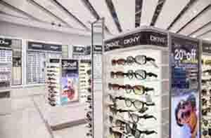 gafas dotadas de etiquetas opticas anti hurtos en tienda dotada de soluciones integrales de seguridad antihurtos eas para el sector del retail