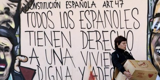 graffiti derecho viviendas ocupas okupas